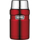Thermos King - Recipientes para bebidas - 710ml rojo/Plateado